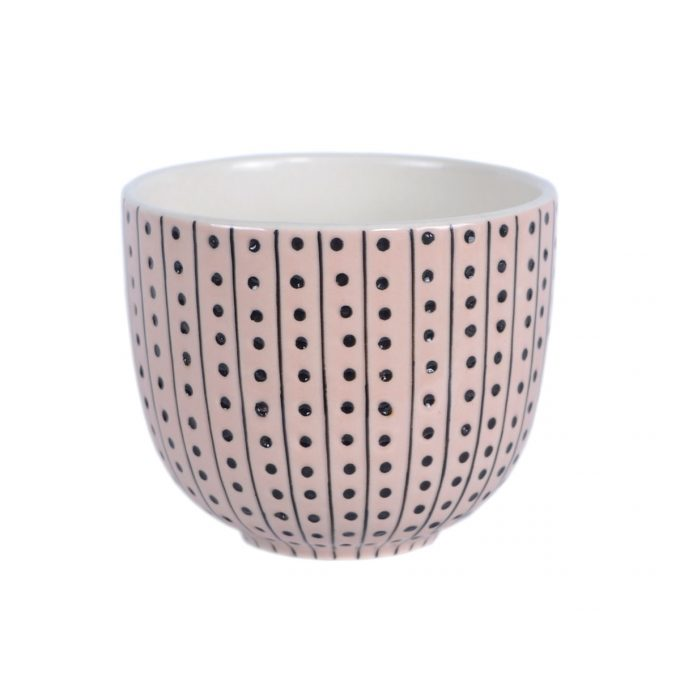 TallentireHouse TeaCup Urchin Pink White